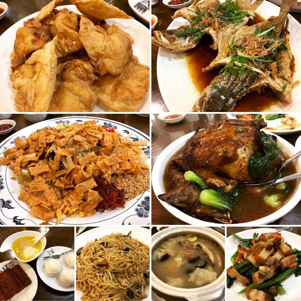 Family Lo Hei Dinner~