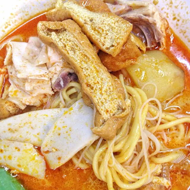 Curry chicken noodle so awesome and flavorful
