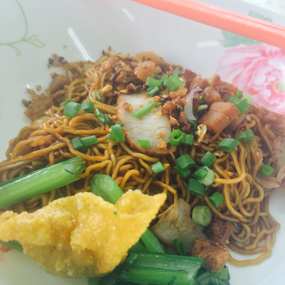Thai Style Wanton Mee