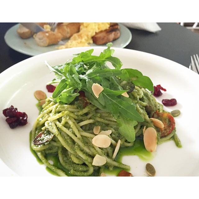 #Sunday #Cafehopping: Pesto Pasta.