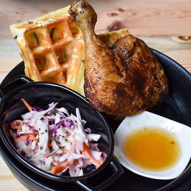 Waffles are meant for weekend brunches.