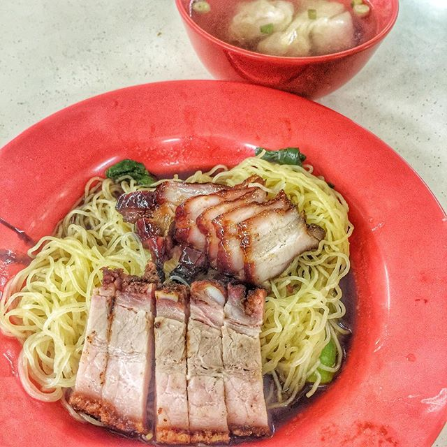 Raved by many and was said to be one of the few top wanton mee in Singapore.