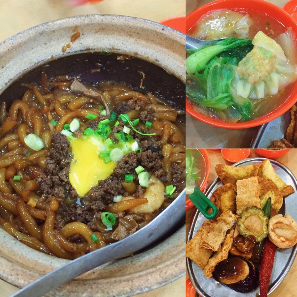 Claypot Mee Tai Bak, Dumpling Soup, Ampang Yong Tau Foo