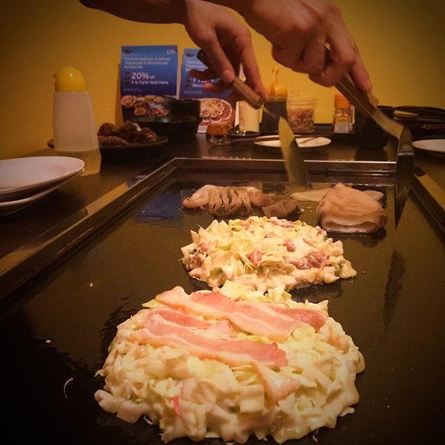 Okonomiyaki!! (S$10 - S$16)