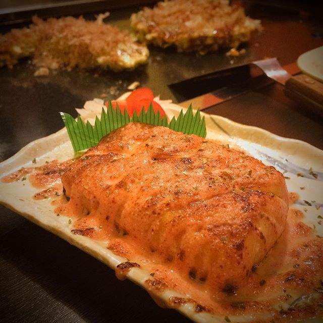 Aburi Mentai Salmon (S$17)