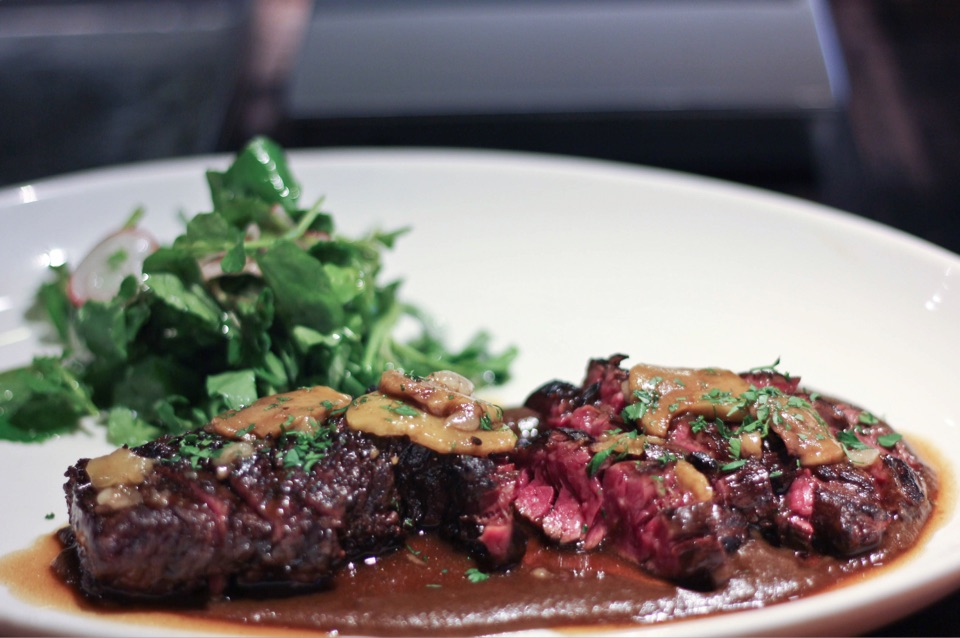 Onglet ($26/100g, Pictured 270g)