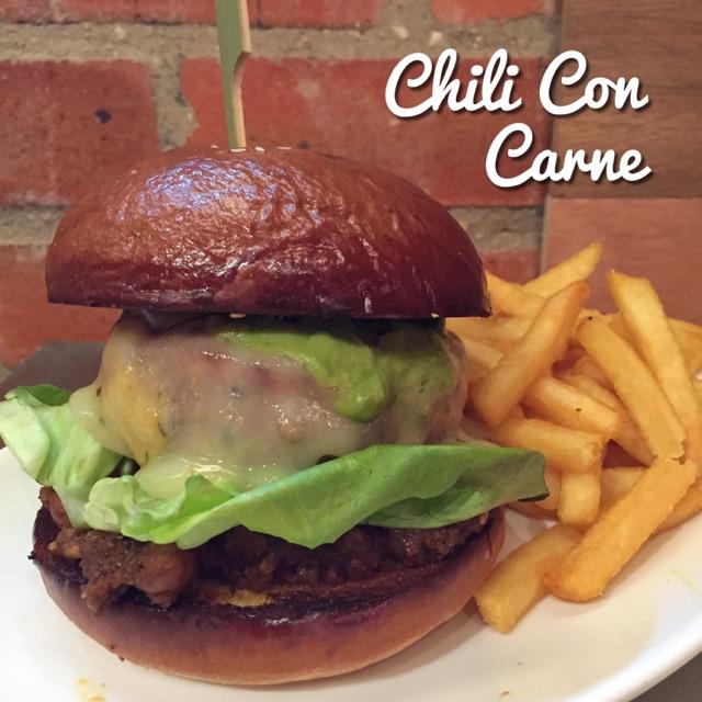 Chili Con Carne Burger ($21 nett)
