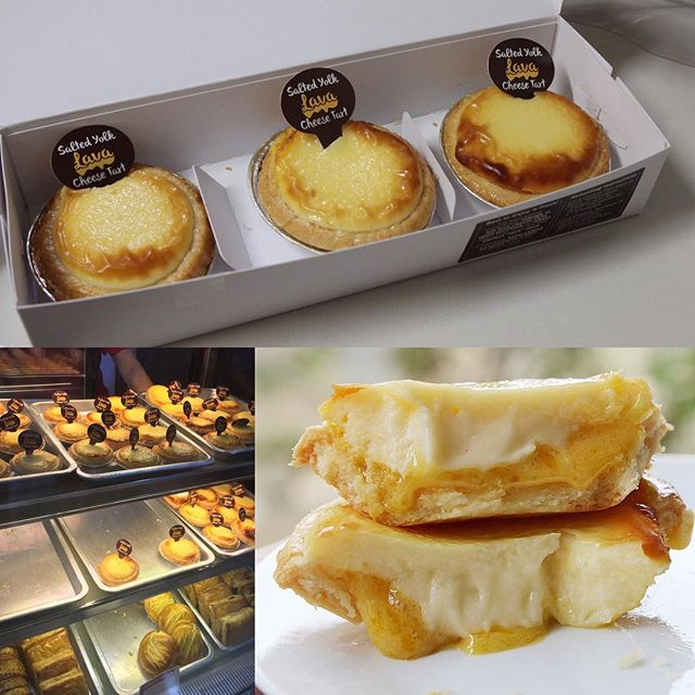 I'm too lazy to queue for the cheese baked tarts at orchard ion so Prima Deli it is.