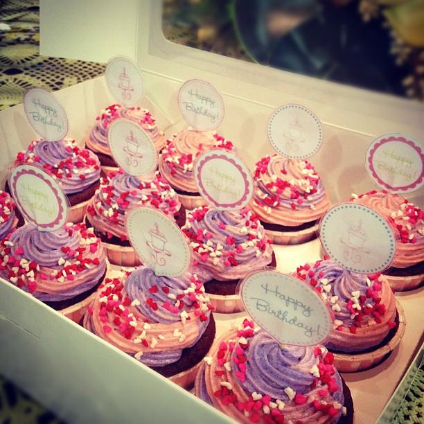 Red Velvet Birthday Cupcakes Sweet 15th Birthday Red Velvet