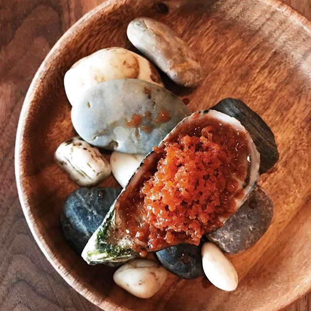 Only a plump, sweet Coffin Bay oyster, bursting with a bright, fresh taste of the ocean.