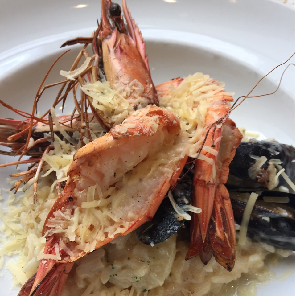 Seafood Risotto!