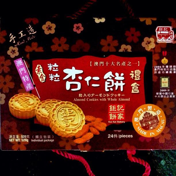 Almond Cookies Macau Almond Cookie Macau