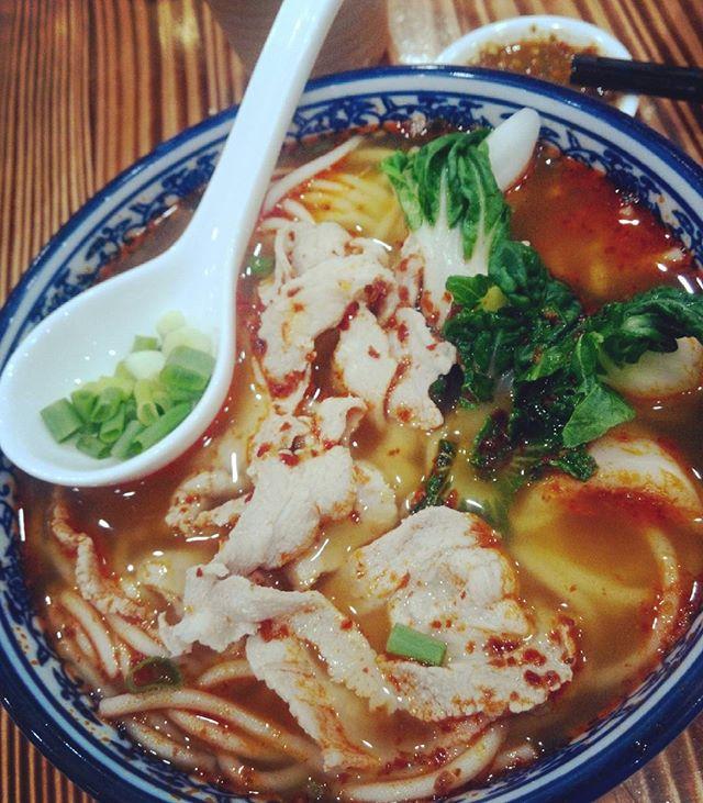 Mi Xian Spicy Pork Slice (3.9/5) Wowzzz..