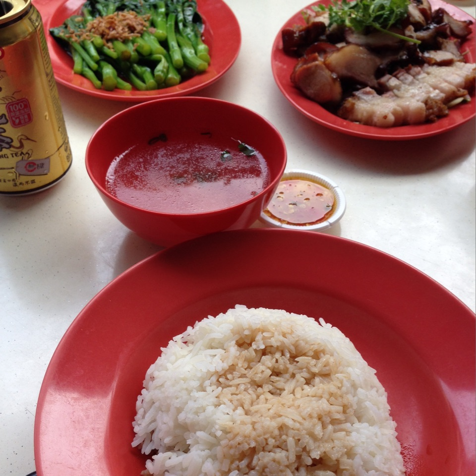 Roast Meat Rice ($8/pax)