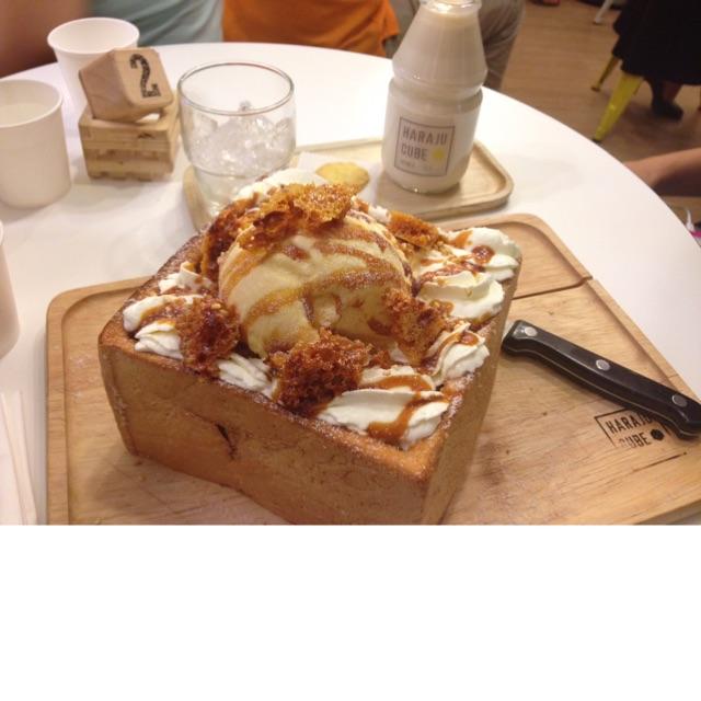 Caramel Honey Toast