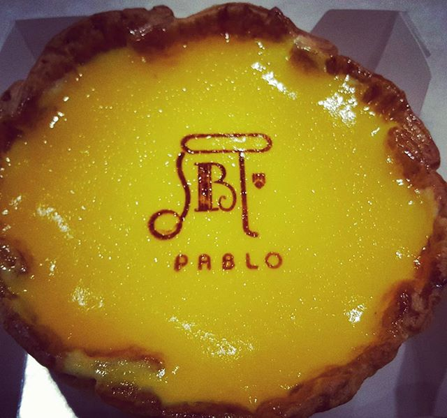 Finally get to try the signature Pablo Baked Cheese Tart after the hype has gone..the cheese taste is less heavy and not greasy, but smooth & creamy #cheesetart #burpple #burpplekl #pablo