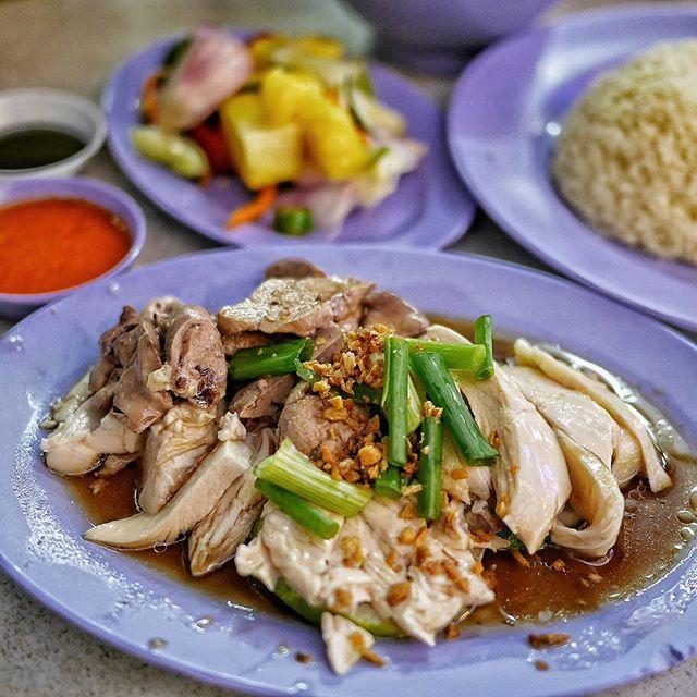 Delicious Bonelsss Chicken Rice.