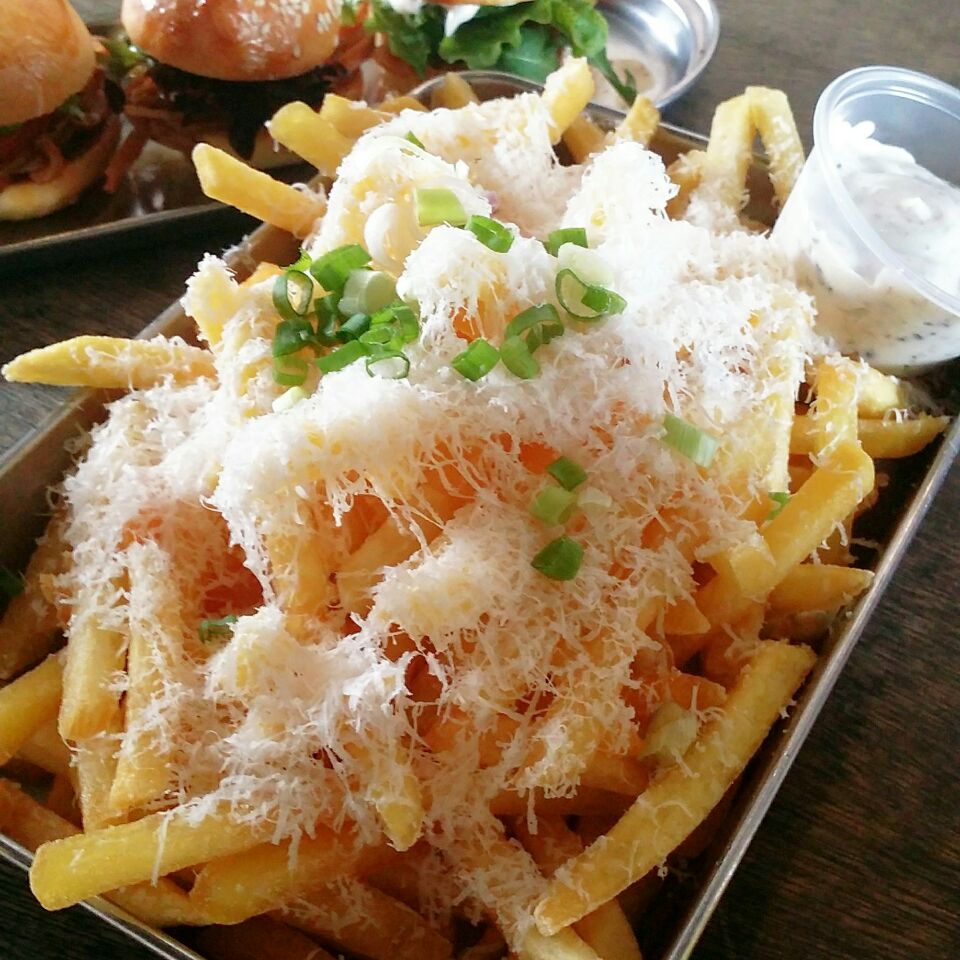 Truffle Fries @ The Tuckshop