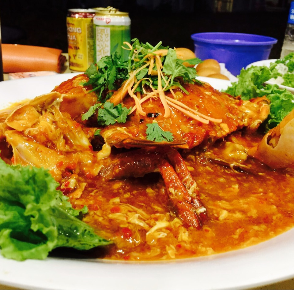 Traditional Chilli Crab