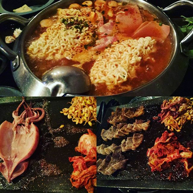 #tbt the Korean BBQ over at 8 Korean BBQ.