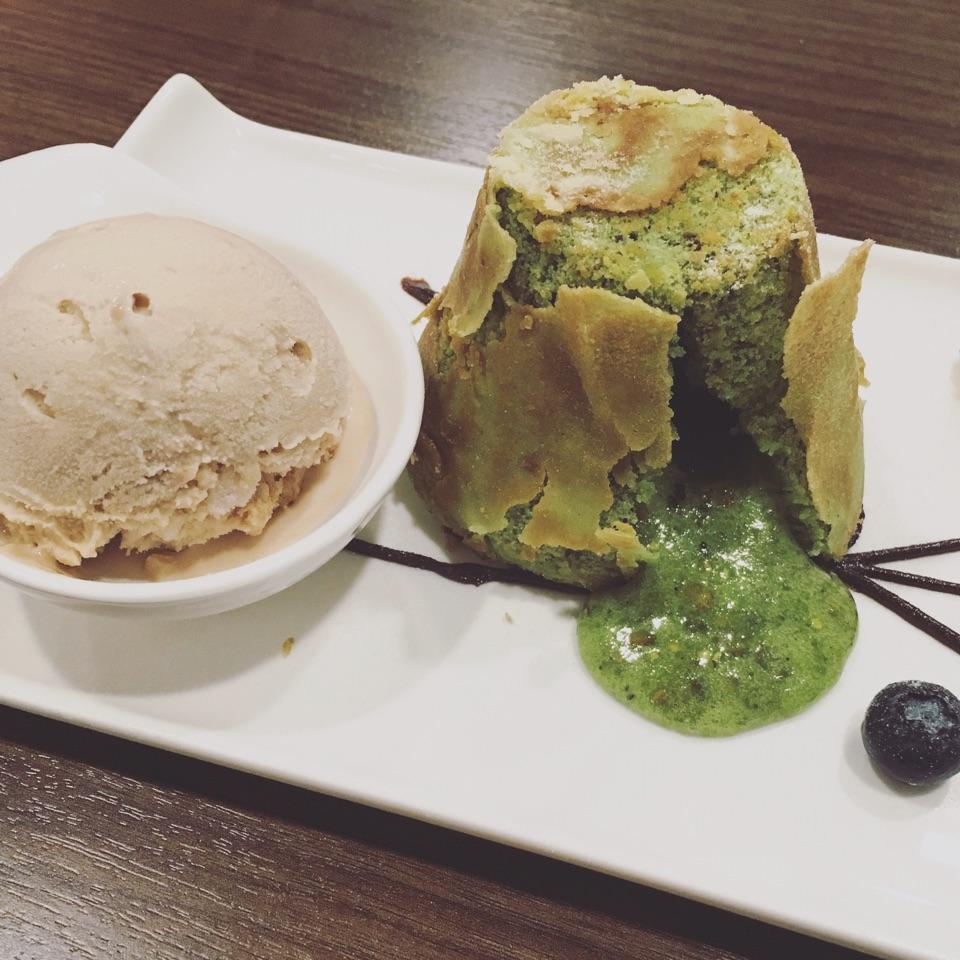 Pistachio Lava Cake ($11.80)