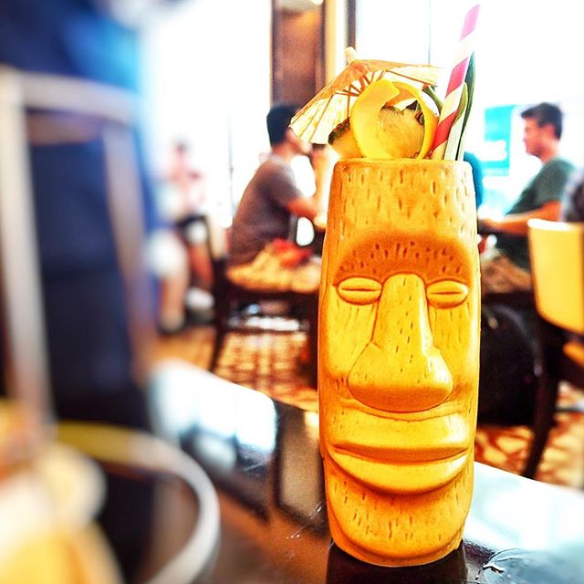 DB Bistro and Oyster Bar ☻☻☻☻☻☻☻☻☻☻ MAI TAI TIKI COCKTAIL ☻☻☻☻☻☻☻☻☻☻ Fate.