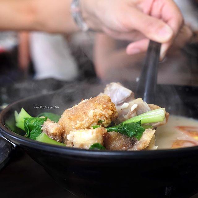 My third bowl of fish soup at Xin Yuan Ji during a single seating.