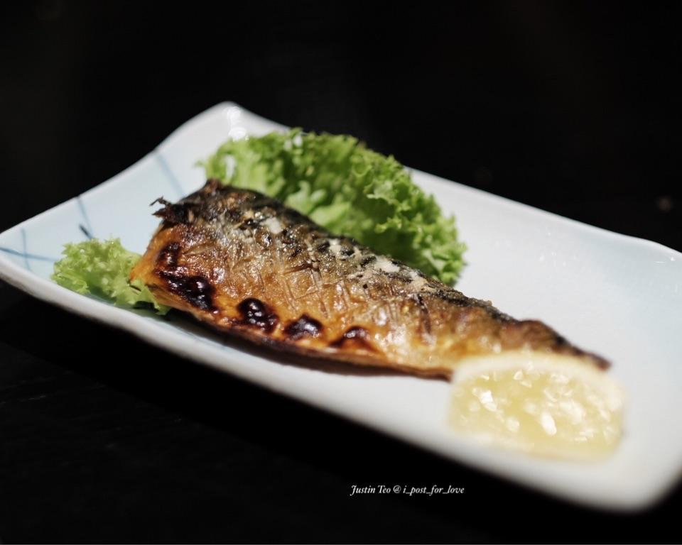 Saba Shioyaki [ala carte dinner buffet at S$43++].