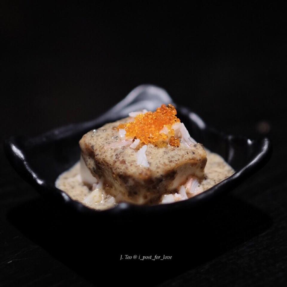 Pitan tofu [ala carte buffet at S$43++]