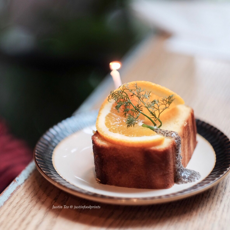 Orange Lemon Pound Cake [$8]