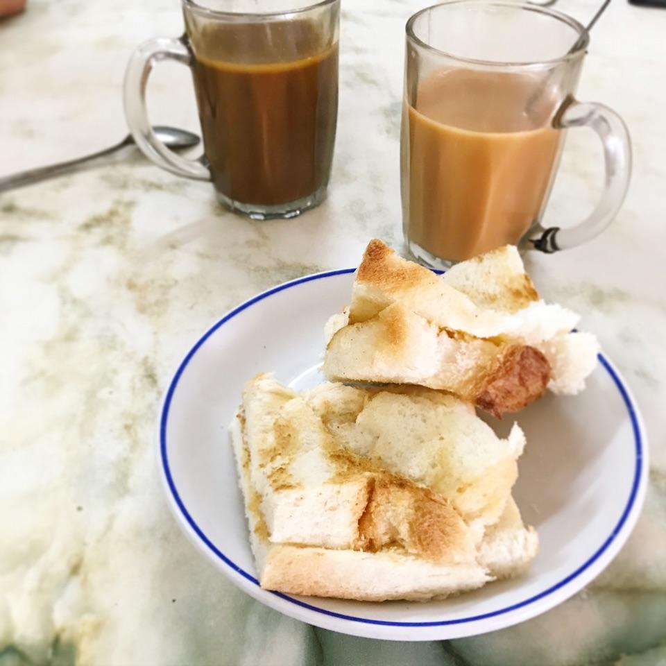 Kopi Gu You And Kaya Butter Toast