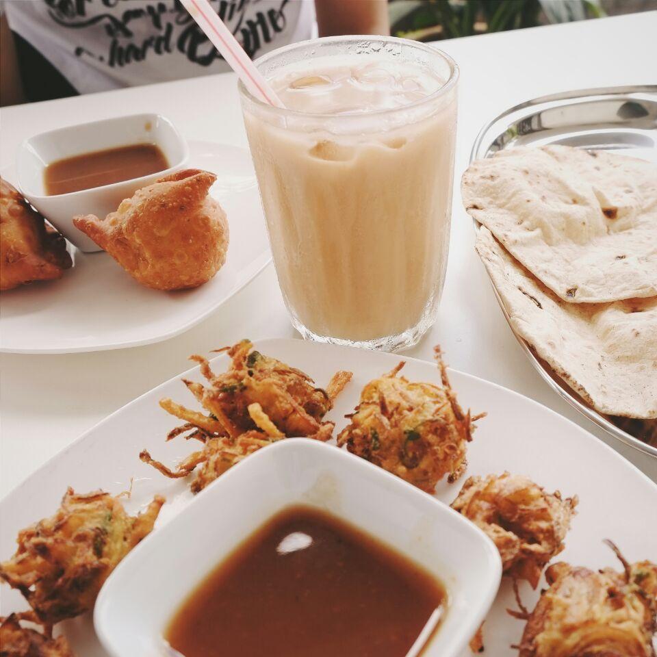Samosa, Pakoda, Masala Chai, Ganga Amrit, Ganga Tea Crush