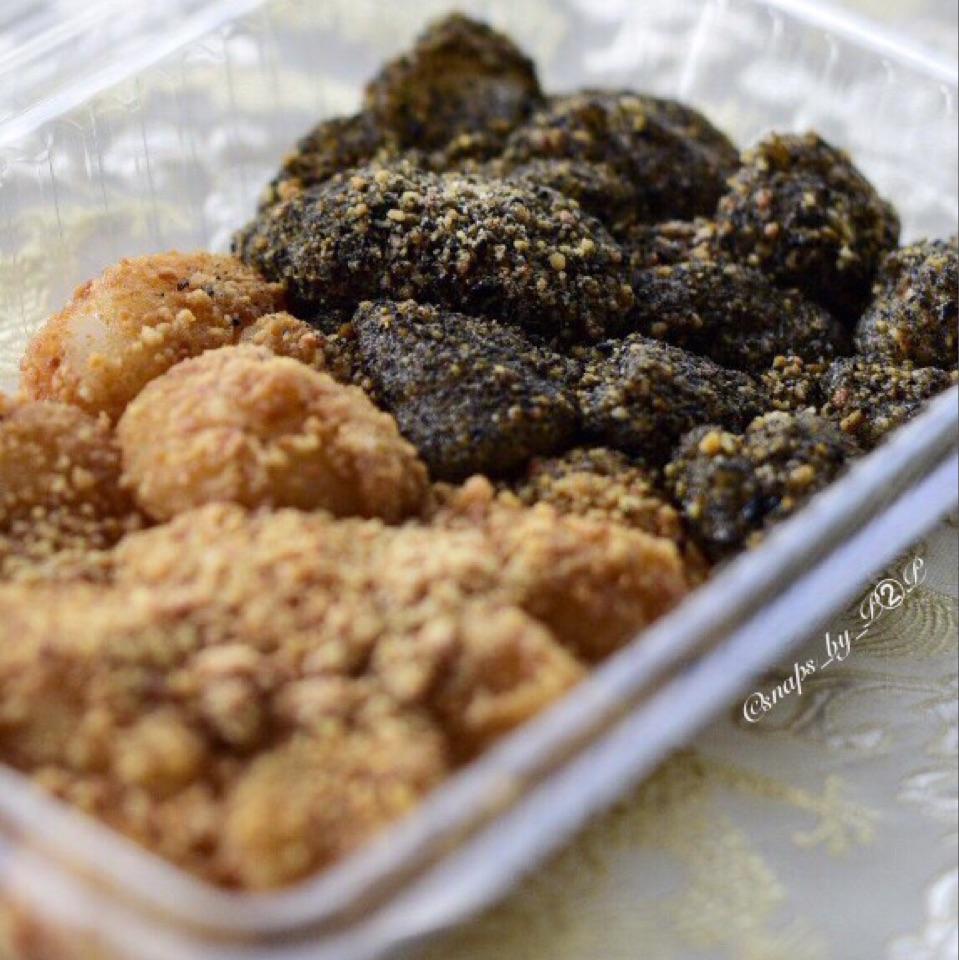 Muah Chee (Glutinuous Rice Balls)