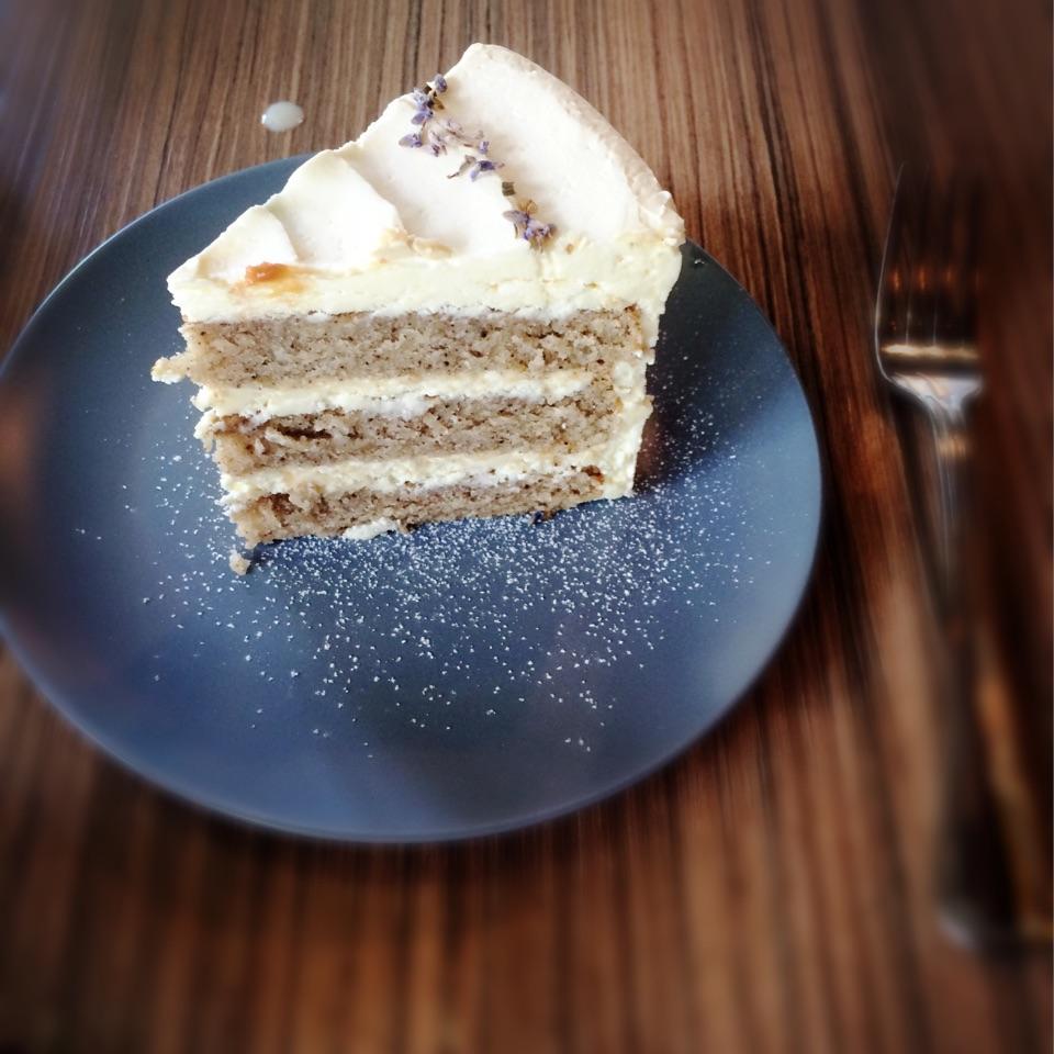 Earl Grey Lavender Cake ($7.90)