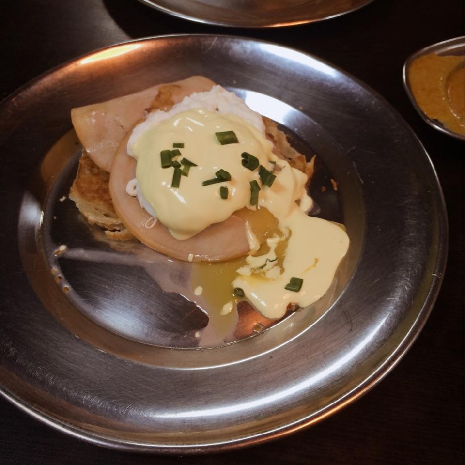 Egg Benedict Prata($5.00)