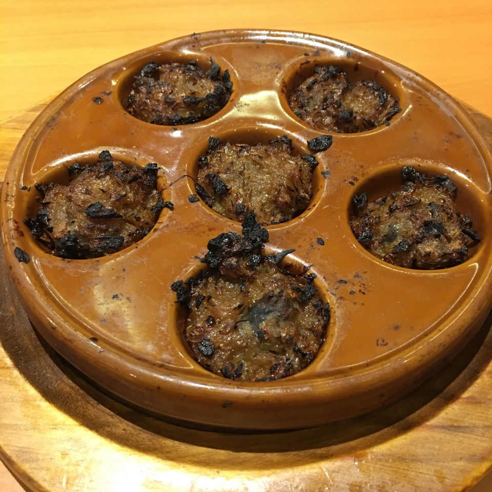 Oven Grilled Escargots
