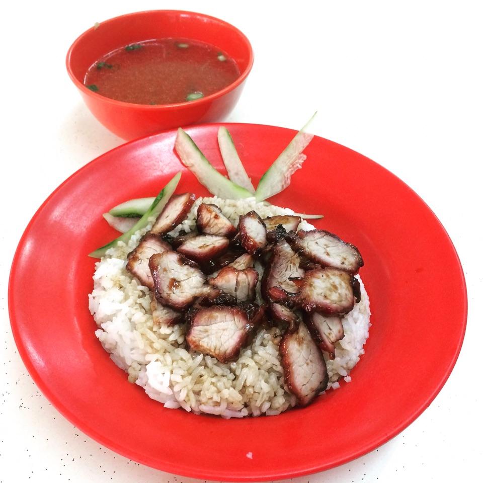 Char Siew Rice ($3.50)