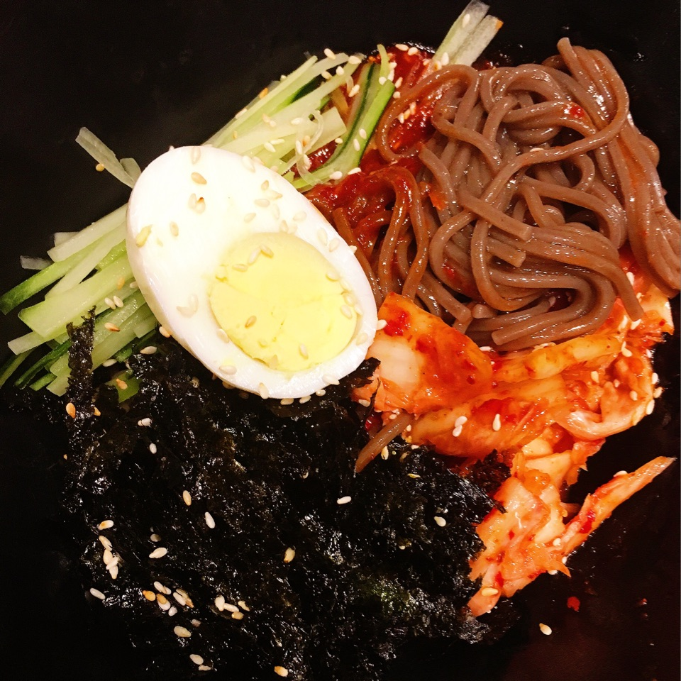 Spicy Naengmyeon Noodles