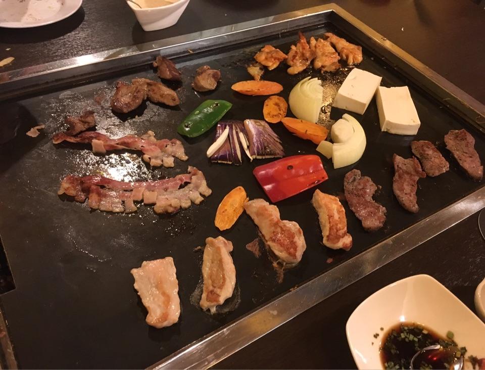 Teppanyaki (Meat Platter)
