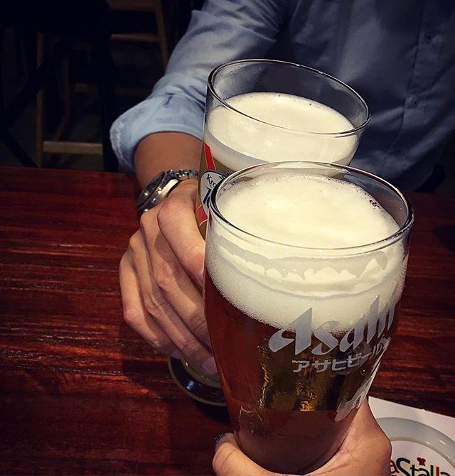 Cheers 🍺🍺🎂 #melfclar #essenpinnacle #asahisg #kronenbourgsg #melfbd