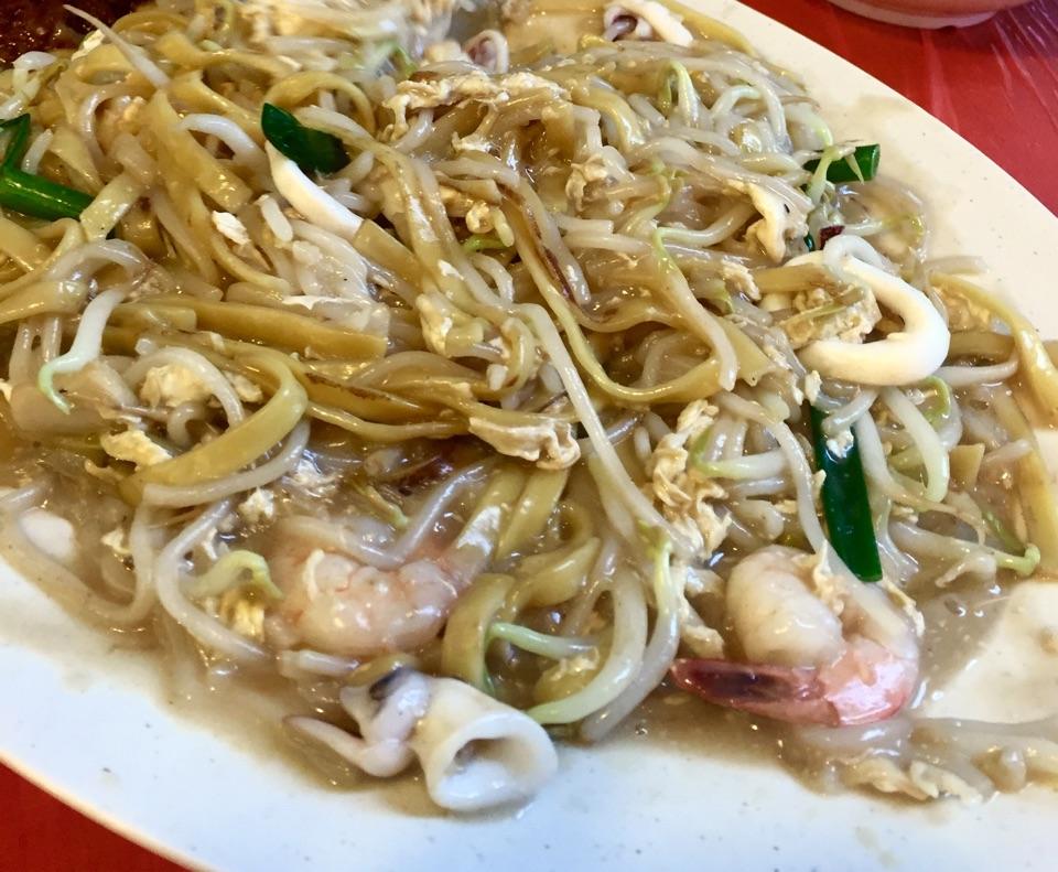 炒虾面 with a KL twist