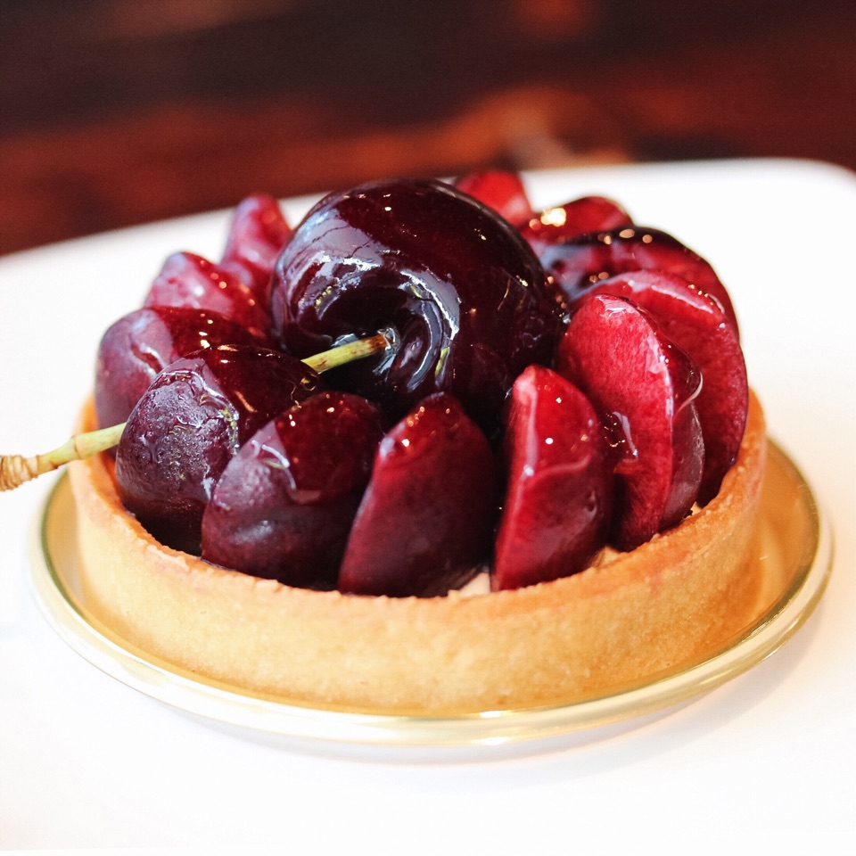Tasmanian Cherry Tart