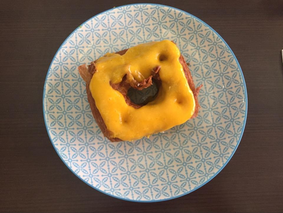 Salted Egg Yolk Cronut