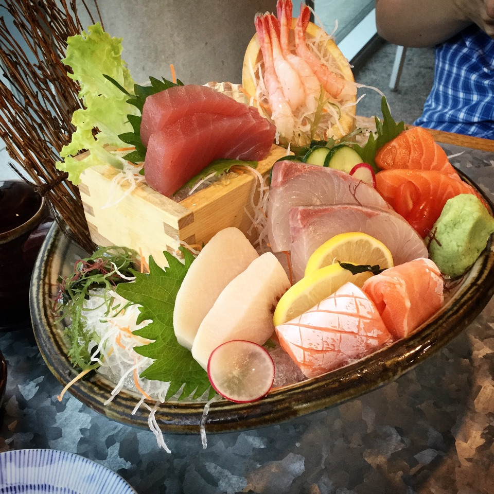 Fresh Sashimi But..