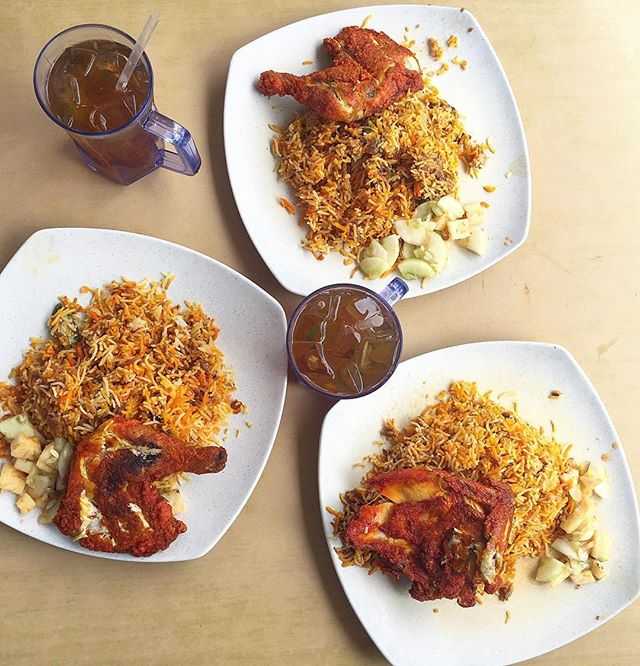 The Briyani here is definitely a favourite on our foodie list!