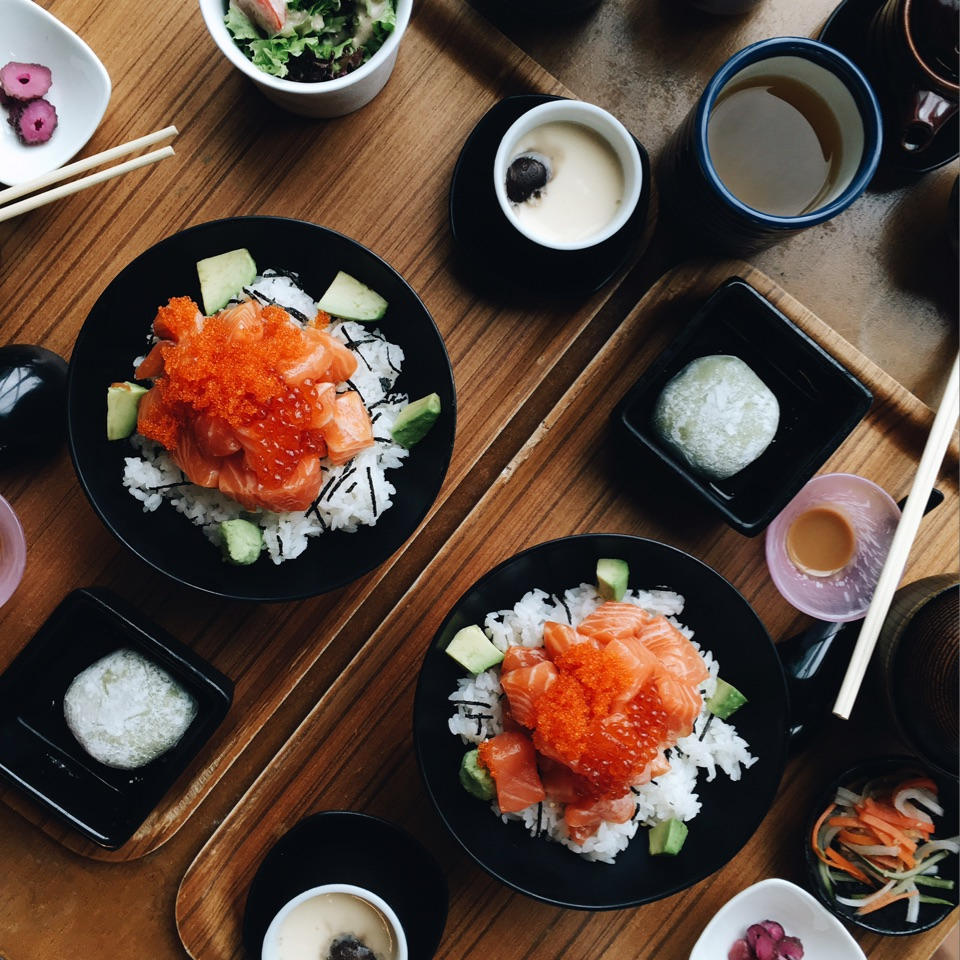 Gorgeously Fresh Sashimi Chunks