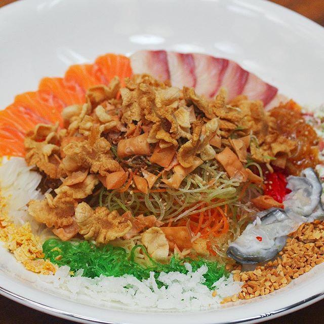 [Tamashii Robataya] - Salmon + Yellowtail Japanese Truffle Infused Yusheng.