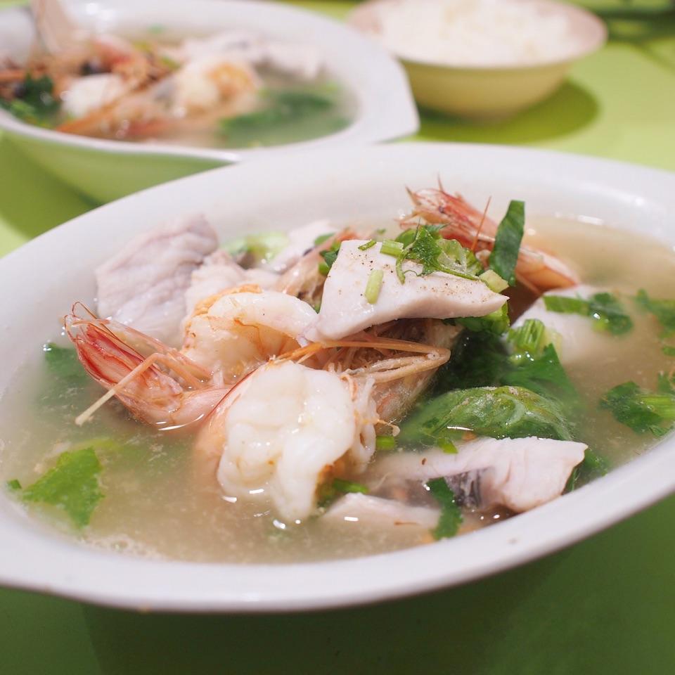 Fish & Prawn Soup