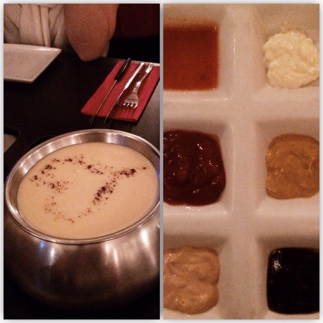 Sauces Of Meat Platter