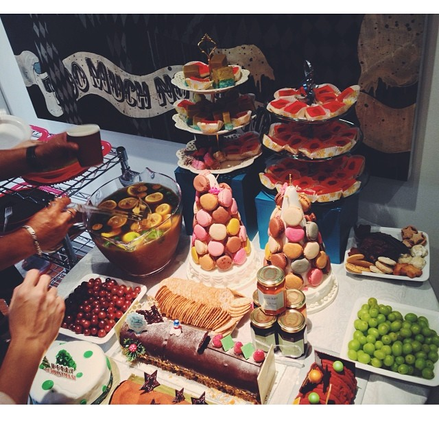 Brunch Ideas At Work: Pantry Party Food Foodspotting Work Christma... (63/439